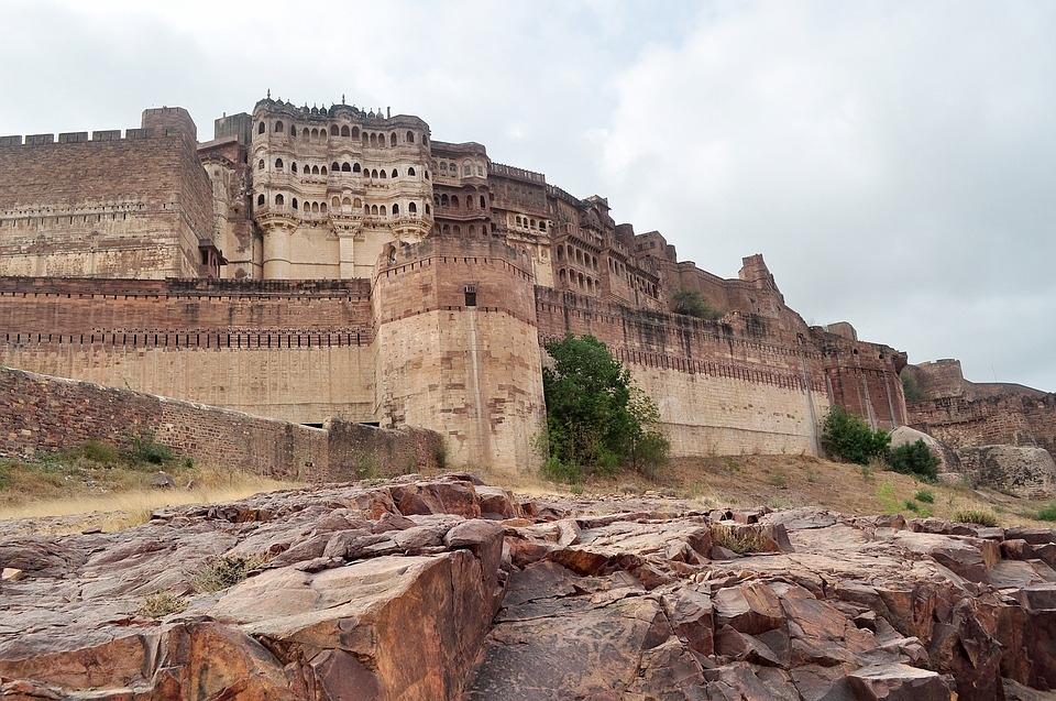 India: the city and the Fort of Jodhpur